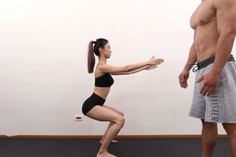 深蹲锻炼哪里 主要是这几个部位