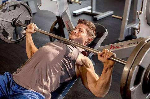 健身增肌计划一周表男生精华版