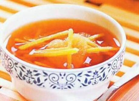 感冒药膳 姜丝鸭蛋汤
