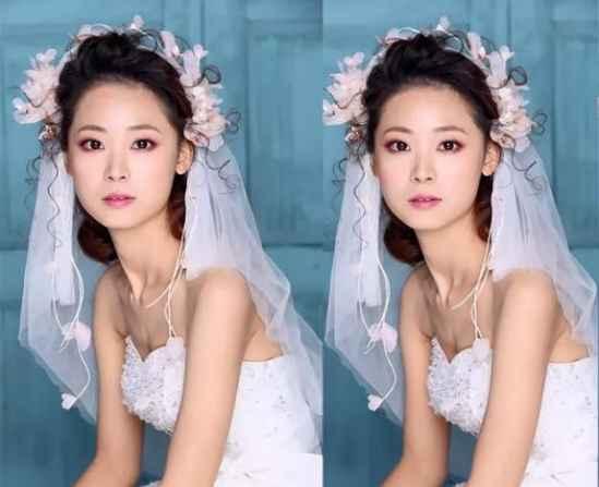 新娘妆的画法步骤 仙气十足持久粉嫩妆容