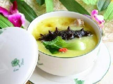海参养生汤的做法