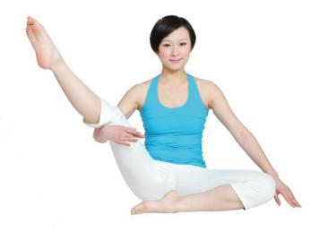 30分钟瑜伽组合-坐立侧抬腿式